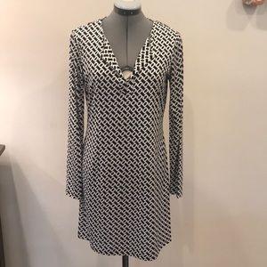 DVF Shift Dress